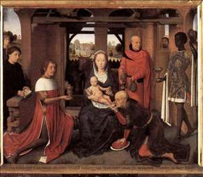 Triptych of Jan Floreins (central panel)