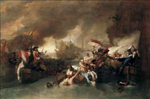 The Battle of La Hogue