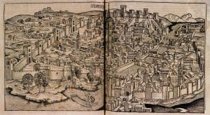 Nuremberg Chronicle, View of Florence