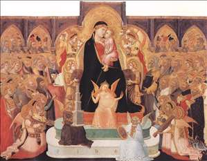 Madonna with Angels and Saints (Maestà)