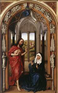 Miraflores Altarpiece (right panel)