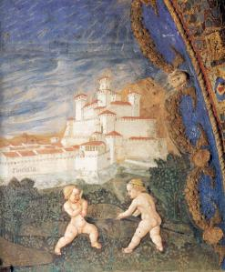 Pier Maria and Bianca Struck by the Arrows of Amor (detail)