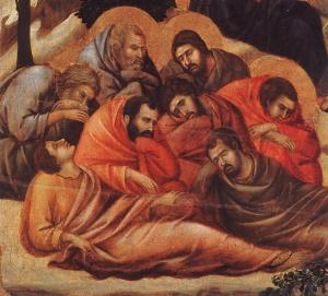 Agony in the Garden (detail)