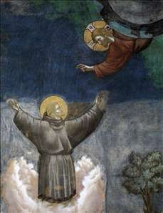 Legend of St Francis: 12. Ecstasy of St Francis
