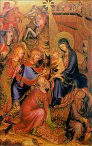 The Adoration of the Magi (Bargello Diptych)