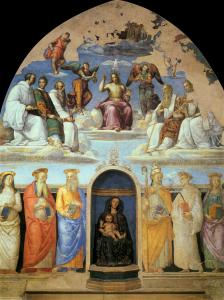 Trinity and Six Saints