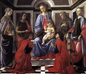 Madonna and Child with Six Saints (Sant'Ambrogio Altarpiece)