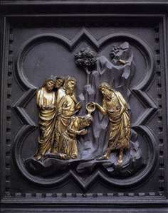 The Baptism of the Multitude (panel of the south doors)