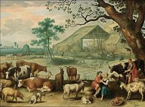 Landscape with Amorous Shepherds