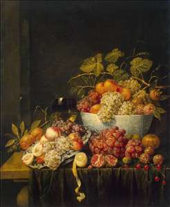 Still-Life with Grapes