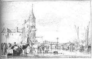 The Oostport (East Gate) at Delft