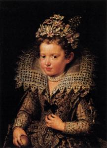 Portrait of Eleonora of Mantua as a Child