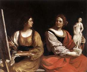 Allegory of Painting and Sculpture