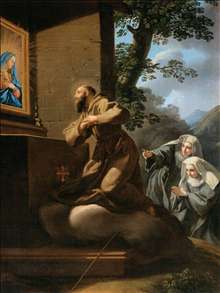 St Francis of Paola in Ecstasy