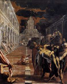 The Stealing of the Dead Body of St Mark