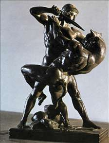 Theseus Slaying the Minotaur