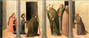 Predella: Consecration of the Church of the Innocents