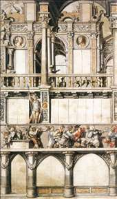 Drawing for the Façade Paintings in the Eisengasse (copy)