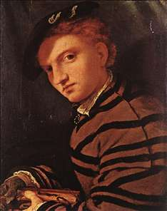 Young Man with Book