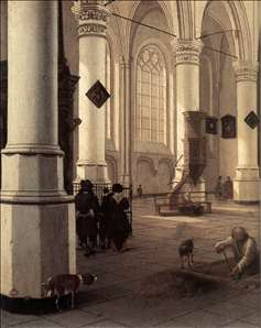 The New Church at Delft