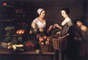 Market Scene with a Pick-pocket