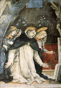 Scene from the Life of St Thomas Aquinas