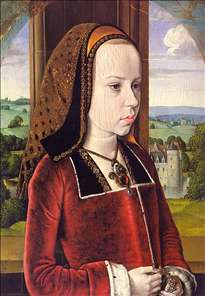 Portrait of Margaret of Austria (Portrait of a Young Princess)