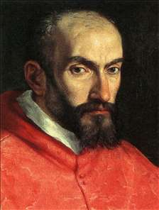 Portrait of Cardinal Agucchi (detail)