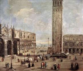 View of the Piazza San Marco from the Procuratie Vecchie