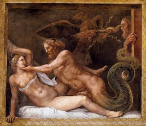 Jupiter Seducing Olympias