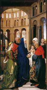 St Columba Altarpiece (right panel)