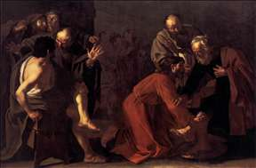 Christ Washing the Apostles Feet