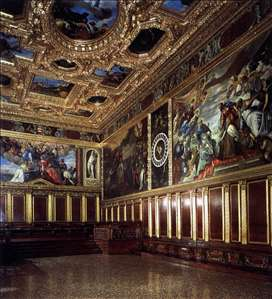 View of the Sala del Collegio