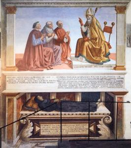 Tomb Monument to Fra Domenico Strambi