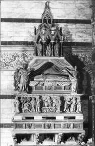 Funeral Monument of Cardinal Petroni