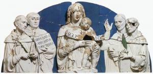 Madonna and Child between Saints
