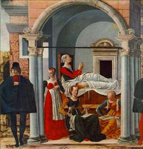 The Convalescence of St Theodora Suarez
