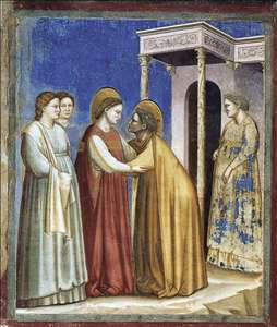 No. 16 Scenes from the Life of the Virgin: 7. Visitation