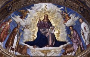 Christ in Majesty with the Patron Saints of Cremona