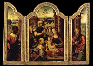 Triptych: Adoration of the Magi