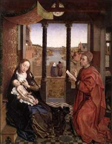 St Luke Drawing a Portrait of the Madonna
