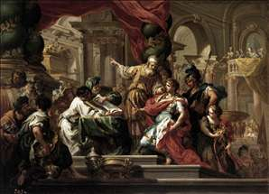 Alexander the Great in the Temple of Jerusalem