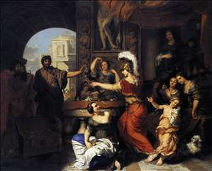 Achilles Discovered among the Daughters of Lycomedes