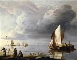 Small Dutch Vessels in a Calm
