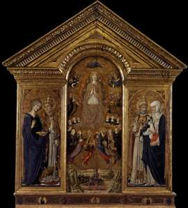 The Virgin of the Assumption with Saints