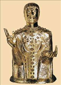 Reliquary Bust of St Baudime