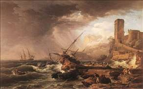 Storm with a Shipwreck