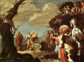 The Sacrifice of Iphigenia