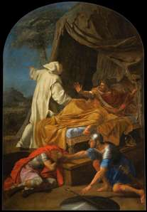 St Bruno Appearing to Comte Roger