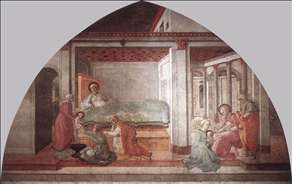 Birth and Naming St John